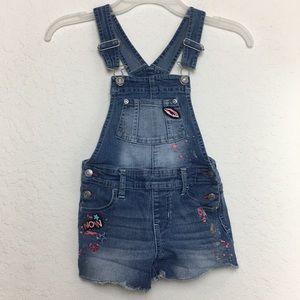 ✅Girls JORDACHE Shortfalls Jeans Romper size S